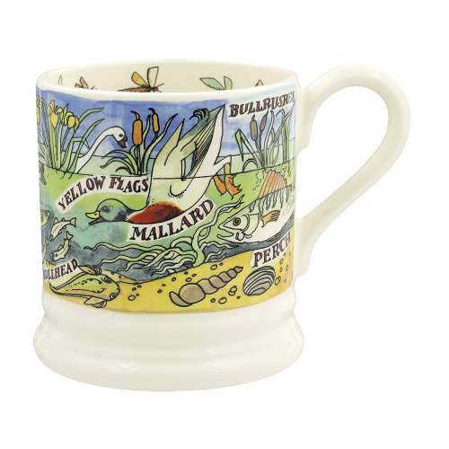 ½ pt Mug River Shore Fresh water