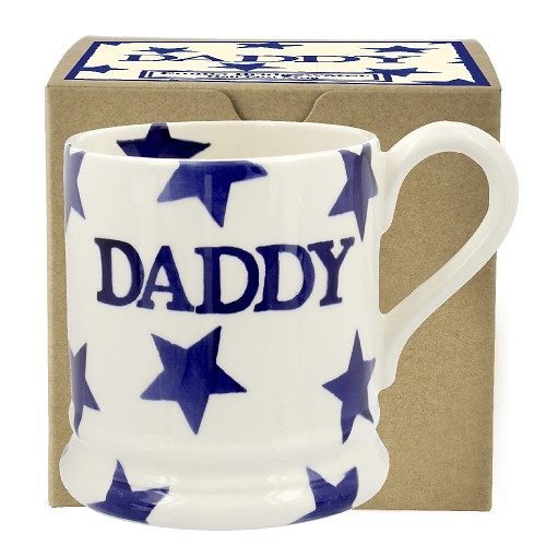 ½ pt Mug Daddy Blue Star Boxed