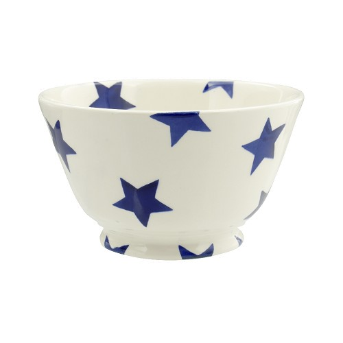 Small Old Bowl Blue Star
