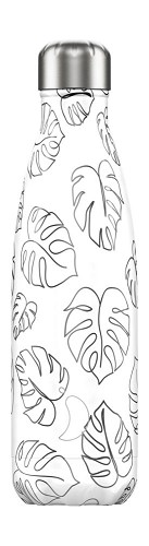 Chilly's Bottle 500ml Line art Leaves