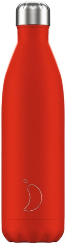 Chilly's Bottle 750ml Neon Red