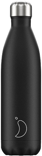 Chilly's Bottle 750ml Black Matte