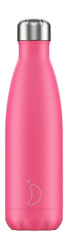 Chilly's Bottle 500ml Neon Pink