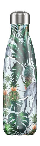 Chilly's Bottle 500ml Tropical Elephant