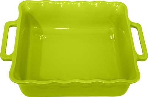 Stackable Square Baking 27½ cm Green Apple