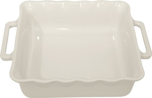 Stackable Square Baking 27½ cm White Off