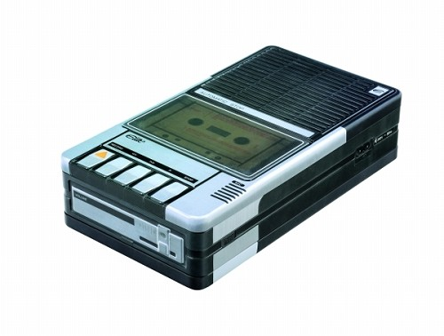 Cassette Recorder tin