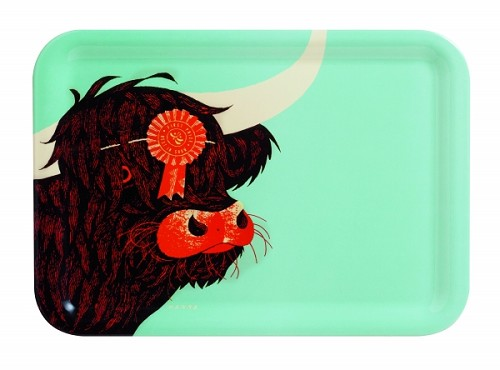 Highland Cow Tray Hanna