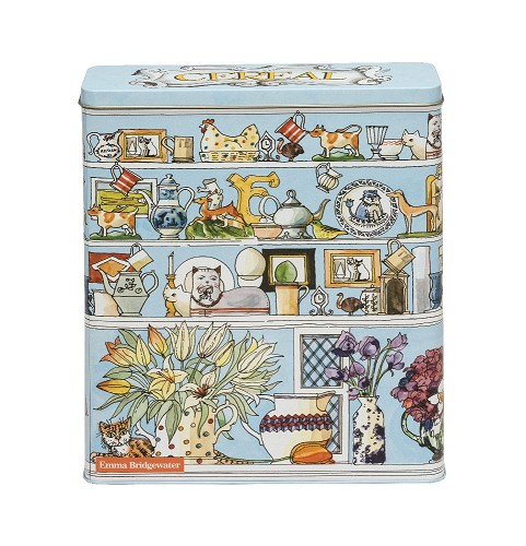 Setting up home Cereal Tin