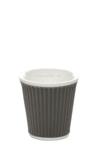 Coffee Cups 10cl Dark Grey