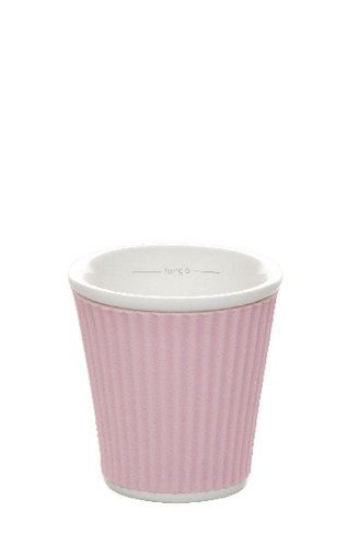 Coffee Cups 10cl Pastel Pink