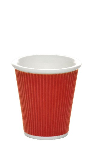 Coffee Cups 18cl Red