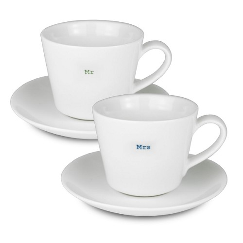 Espresso Set - Mr / Mrs