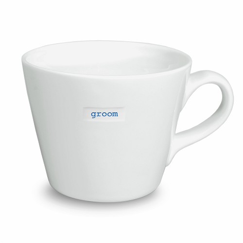 Bucket Mug groom