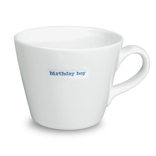 Bucket Mug birthday boy
