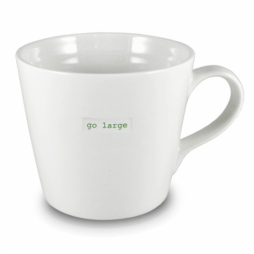 XL Bucket Mug go large