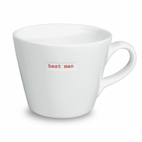 Bucket Mug best man